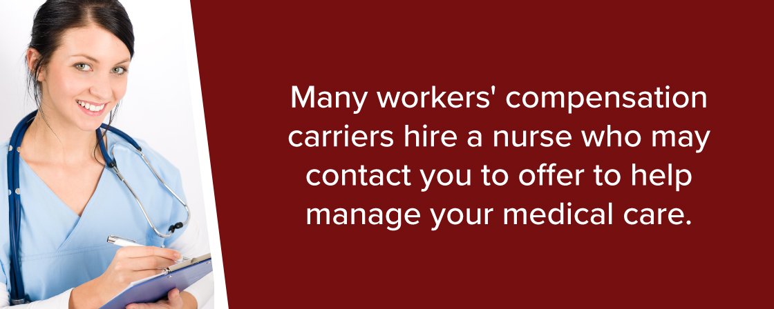 many workers compensation carriers hire medical professionals