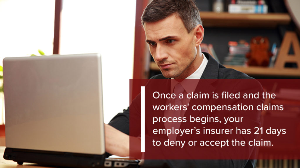 What happens after you file a workers compensation claim