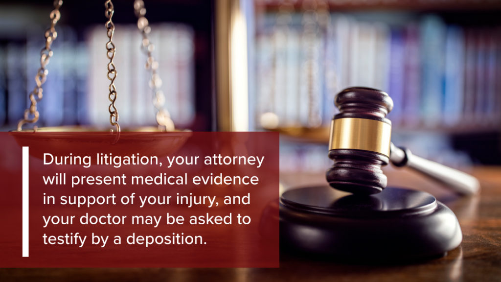 A workers compensation attorney will present medical evidence to support your case