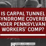 carpal tunnel and workers comp
