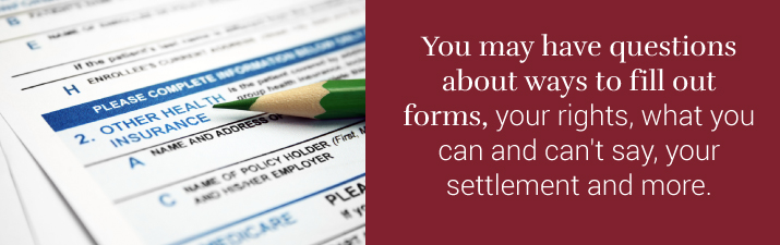 Workers Comp Attorney Can Help With Paperwork