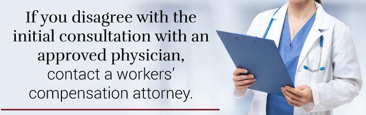 Contact Workers Comp Attorney If You Disagree With Doctor
