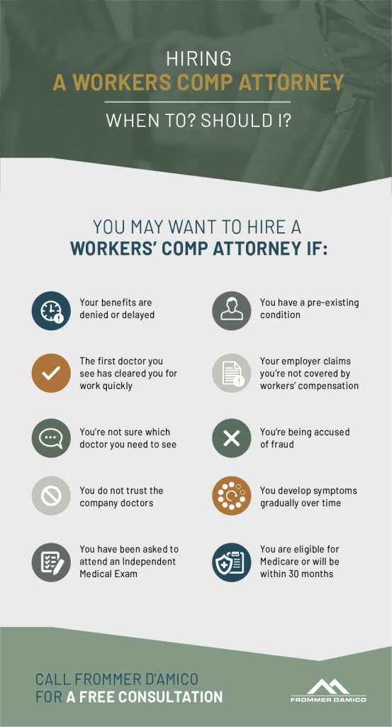 Should I Hire a Workers' Comp Attorney After a Work Injury?