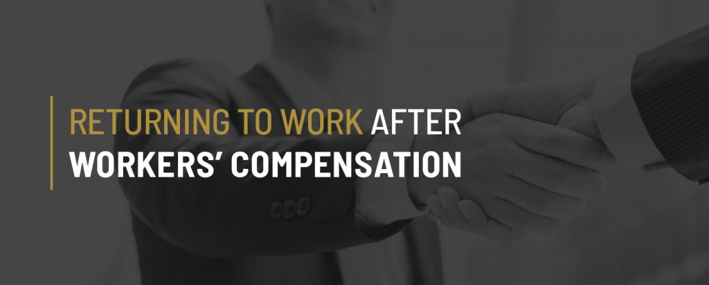 Tips for Returning to Work After an Injury | When Do I Have