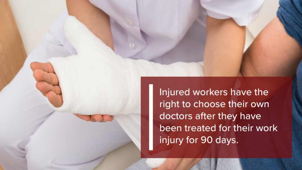 Choose Doctor for Workers Compensation