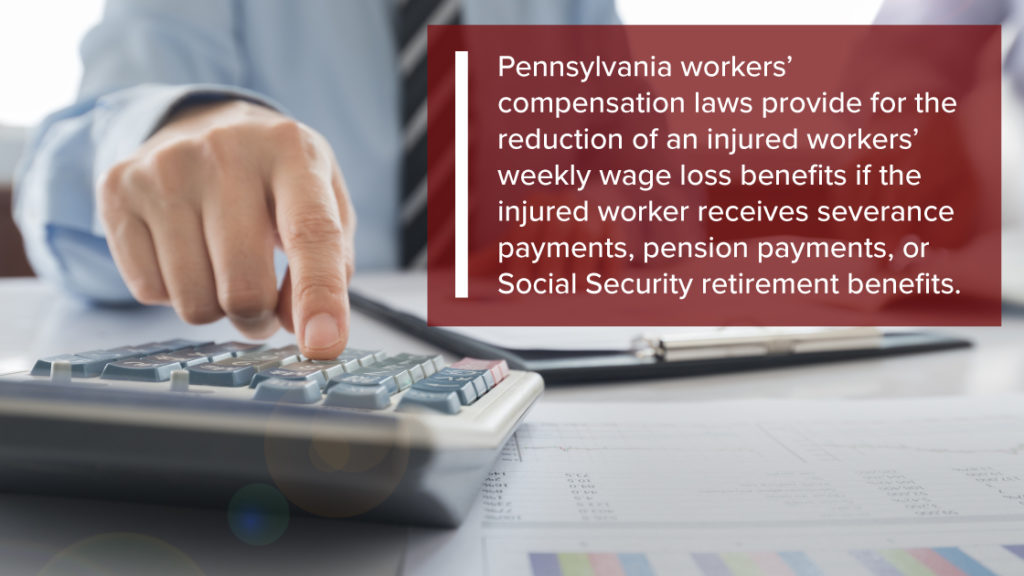 Deductions from Workers Compensation Payments